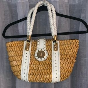 Authentic Michael Kors Santorini Raffia Bag